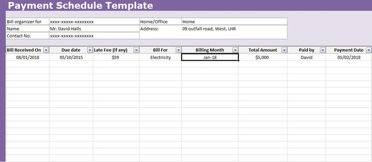 7 best Free Invoice Templates images on Pinterest Invoice - amortization spreadsheet