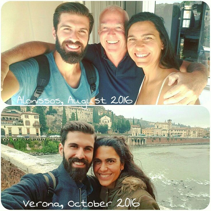 Meeting again my past guests...happiness...😀🔝 So glad I met Michael and Dania last summer...👫 I will never forget their real smile, their open heart and their incredible calmness...👏👏 www.angelosalonissos.com  #angelos_apartments #alonissos #sporades #greece #amazing_guests #catch_up #verona #italy #happy_faces #sharing_moments #lovemyjob #summer2017_is_coming