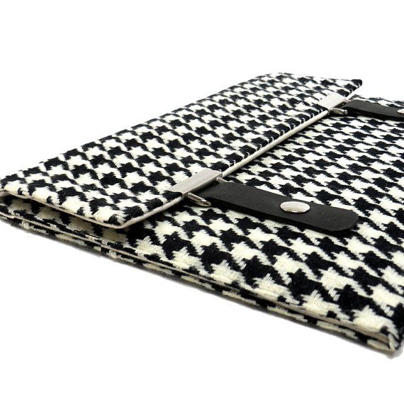 houndstooth ipad case: White Houndstooth, Black And White, Ipad Air Case, Ipad Case, 75 00, Cases Packaging, Products, Houndstooth Ipad