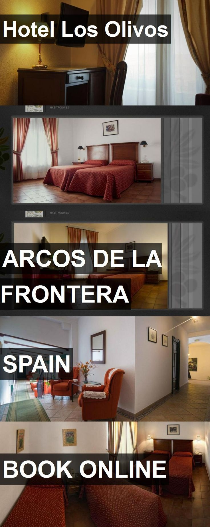 Hotel Los Olivos in Arcos de la Frontera, Spain. For more information, photos, reviews and best prices please follow the link. #Spain #ArcosdelaFrontera #travel #vacation #hotel