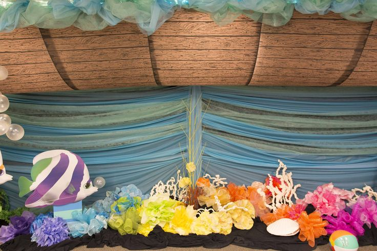 83 best images about ocean commotion decorating ideas on for Noah s ark decorations