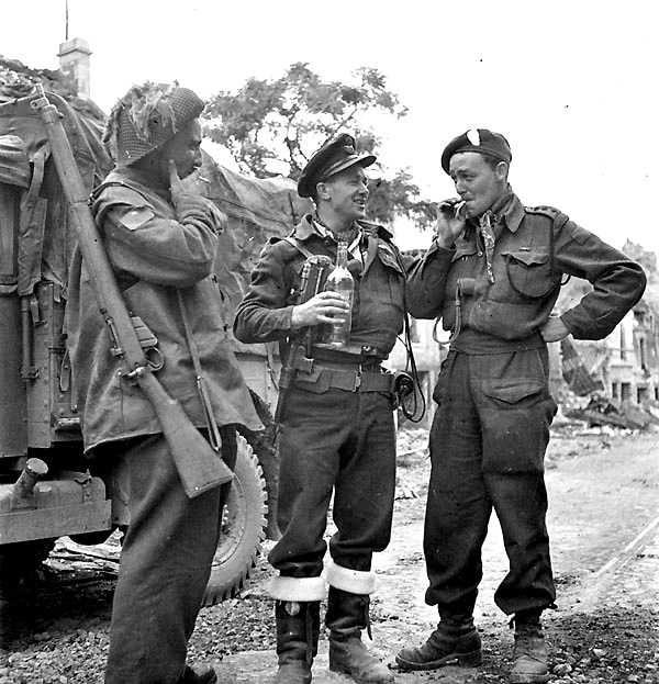 British troops - Normandy 1944