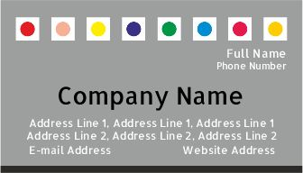 Painting Services Visiting Card design samples online