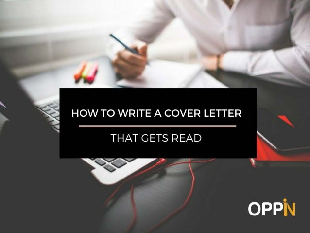 '  HOW TO WRITE A COVER LETTER  1 -   THAT GETS READ  f V' 1 _; ~ ' f ' . «a~£-E'  OPP