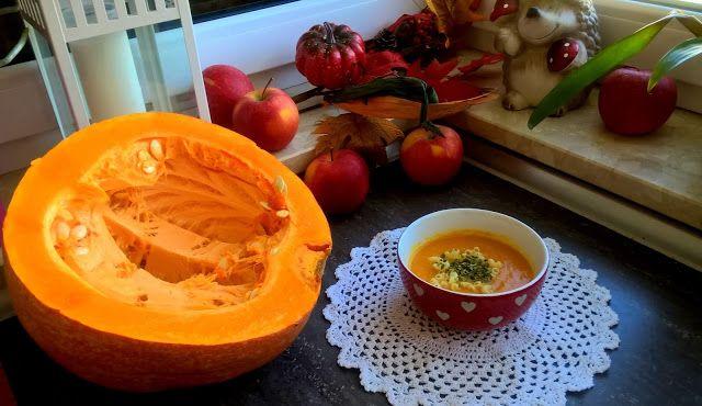 Misioszuszki: Zupa krem z dyni