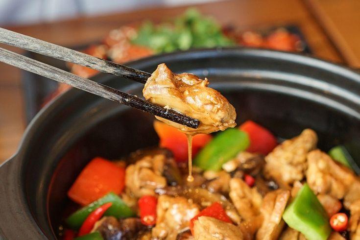 Eine massive chinesische fastfoodkette die bevorstehende