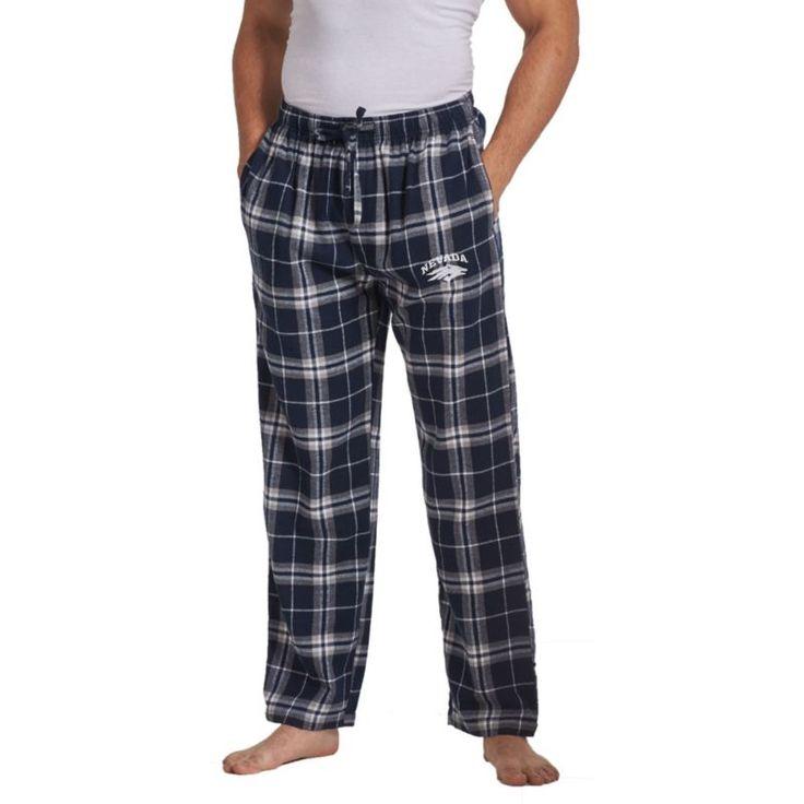 Concepts Sport Men's Nevada Wolf Pack Blue/White Huddle Sleep Pants