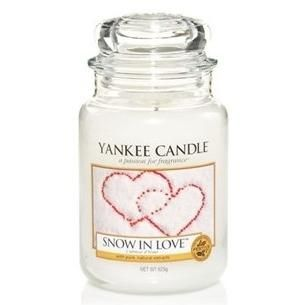 Yankee Candle Grande jarre Snow in love / l'amour d'hiver sur candlestore.fr