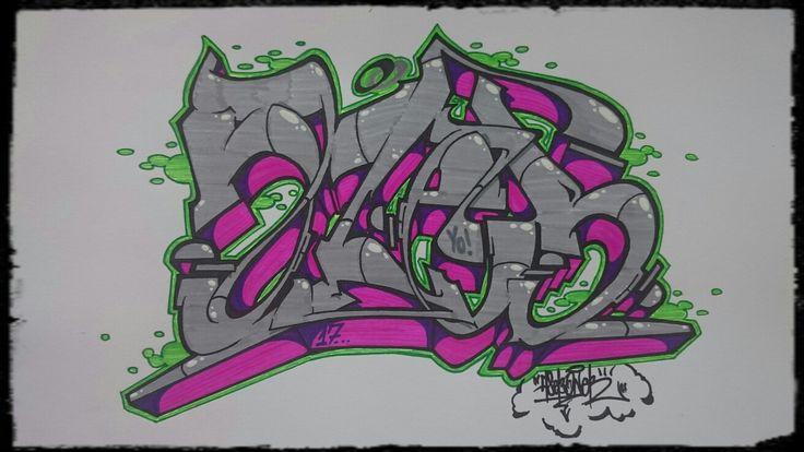 AZEB by AsebOner! Letters practice. #graffiti #sketch #practice