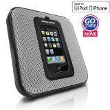 GOgroove MOVE Sleek Portable and Wall Mountable SonusMAX Speaker System for Apple iPhone and iPod - Works for all generation iPods / iPhone 3 , 3GS , 4 , 4S (Electronics)By Accessory Power