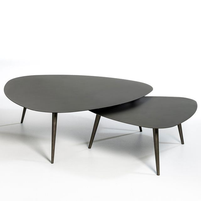 Les 25 meilleures id es de la cat gorie tables basses en - Table basse metal noir ...