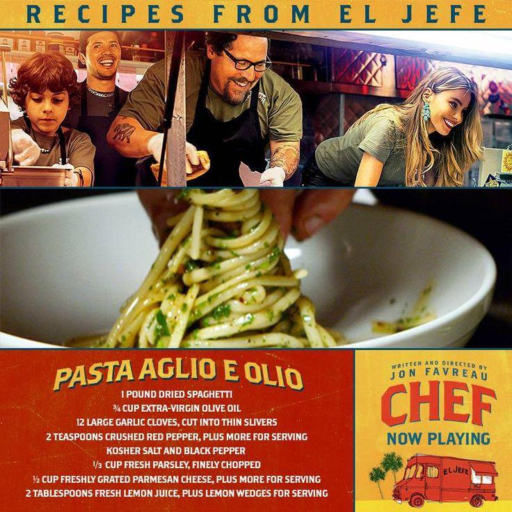 CHEF's Pasta Aglio e Olio (with Garlic and Oil) - soooo delicious!