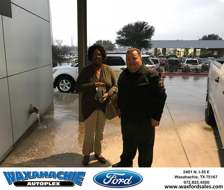 Congratulations Twanna on your #Ford #Explorer from Eric Nelson at Waxahachie Ford!  https://deliverymaxx.com/DealerReviews.aspx?DealerCode=E749  #WaxahachieFord
