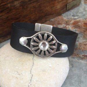 läderarmband, 20 mm