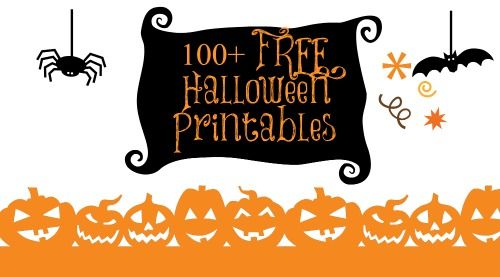 free printable halloween paper crafts
