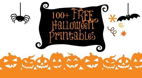 free printable halloween paper crafts