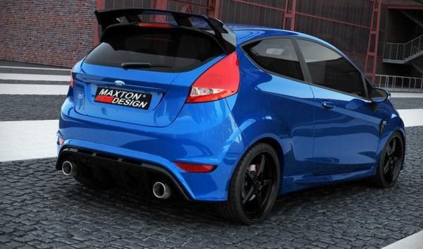 Spoiler Tetto Ford Fiesta Mk7 Focus Rs Look Ford Fiesta Ford