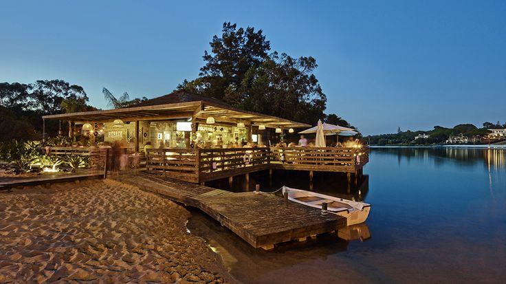 The Shack Lake Bar - Quinta do Lago, Algarve -  by Essencia Architects