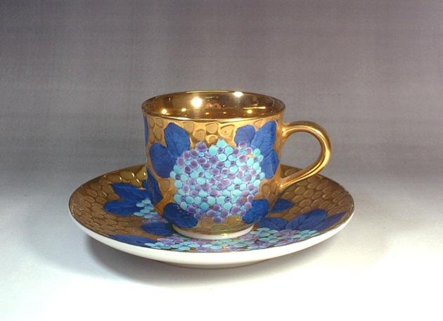 有田焼コーヒーカップ - 和食器通販 陶芸作家藤井錦彩