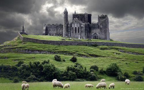 Medieval Castle, Cashel, Ireland...