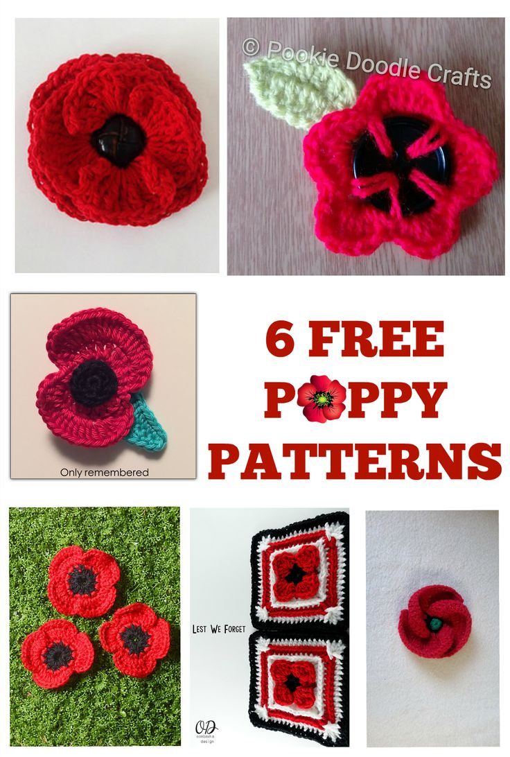 21 best remembrance poppies images on pinterest cooking recipes crochet these beautiful poppies to keep and share with those you love the remembrance poppy is an artificial flower that has been used since 1921 bankloansurffo Image collections