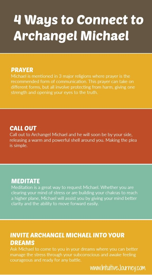 4 Ways to Connect with Archangel Michael (It's Easier than