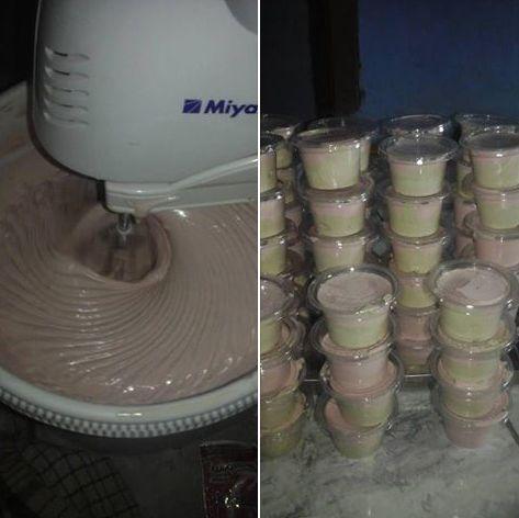 Resep Ice Cream Cup Jual Murah 1000 Rupiah