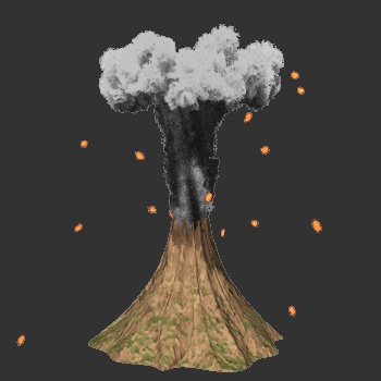 Mount Vesuvius erupts 1867