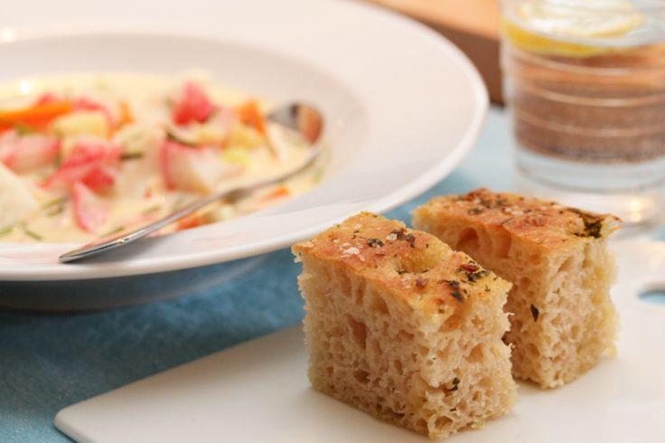 Fiskesuppe med torsk og lobnobs