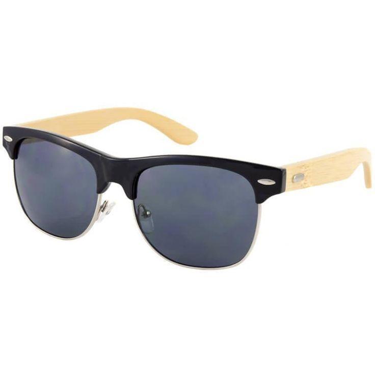 Ένα μοναδικό ζευγάρι γυαλιών ηλίου αυτό το καλοκαίρι είναι τα Ξύλινα Γυαλιά Ηλίου Bamboo Clubmaster Premier που θα προσελκύσει όλα τα βλέμματα πάνω σου!