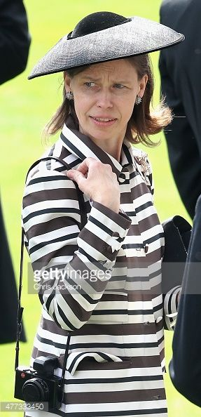 News Photo : Lady Sarah Chatto in the parade ring on day 1 of...