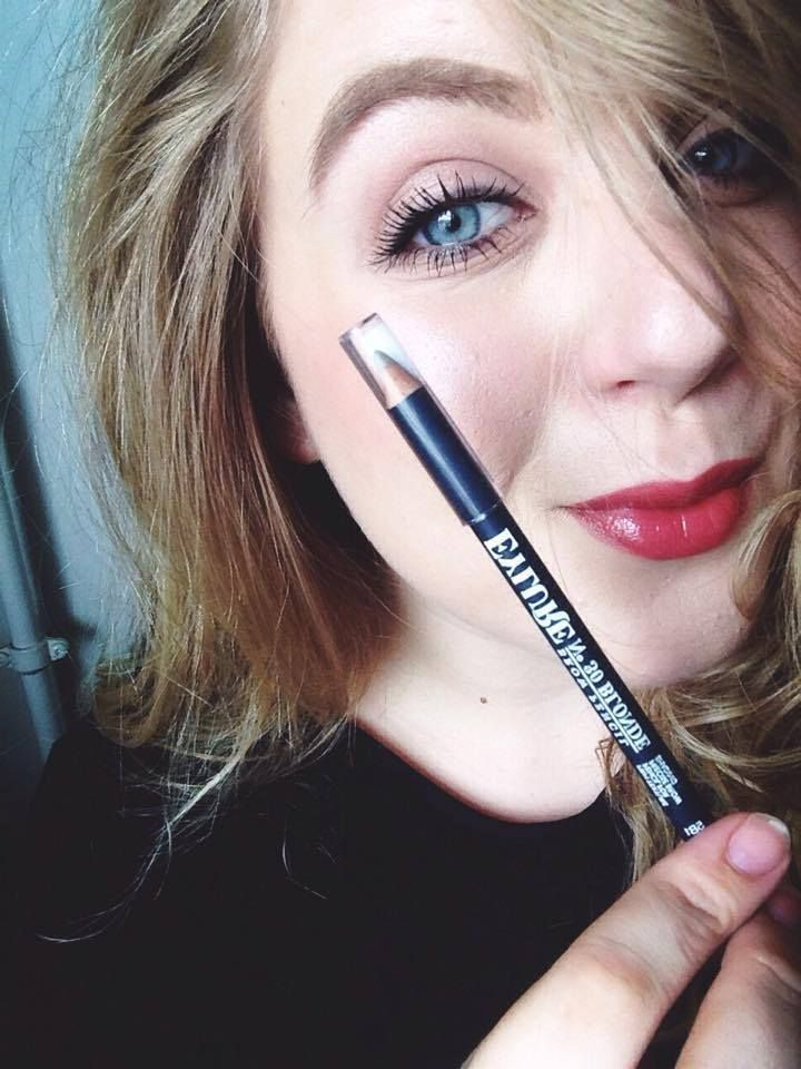 Eylure brow pencil, blonde nrows, brow product -http://www.liseemilia.com/