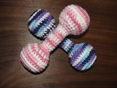 a simple rattle - free crochet pattern