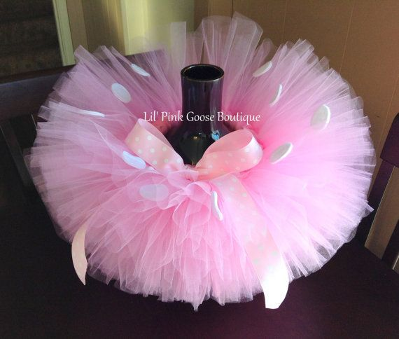 PINK MINNIE Mouse Tutu Minnie Mouse Costume by LilPinkGoose