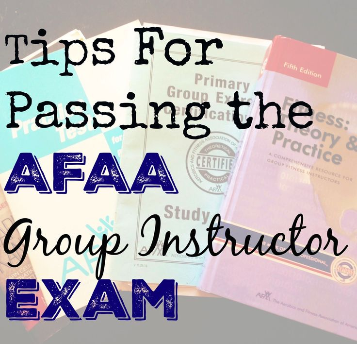 A recap of how I studied for and passed the AFFAA group exercise certification. I also share how my experience was different from most other workshops.