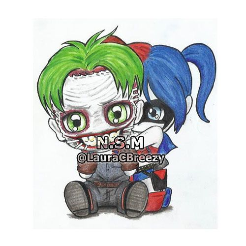 Joker ♥ Harley #New52SuicideSquad