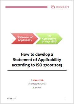 ISO27001 - SoA Guide for ISO27000:2013