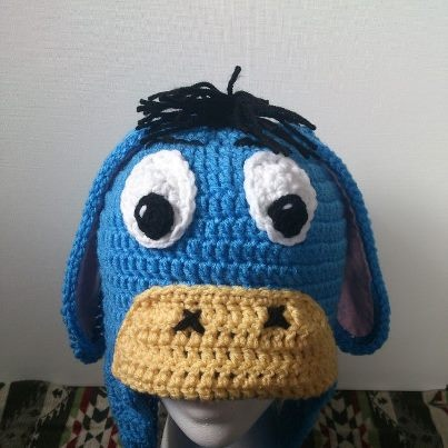 Eeyore hat from Bakers Crochet Creations Crochet - top ...