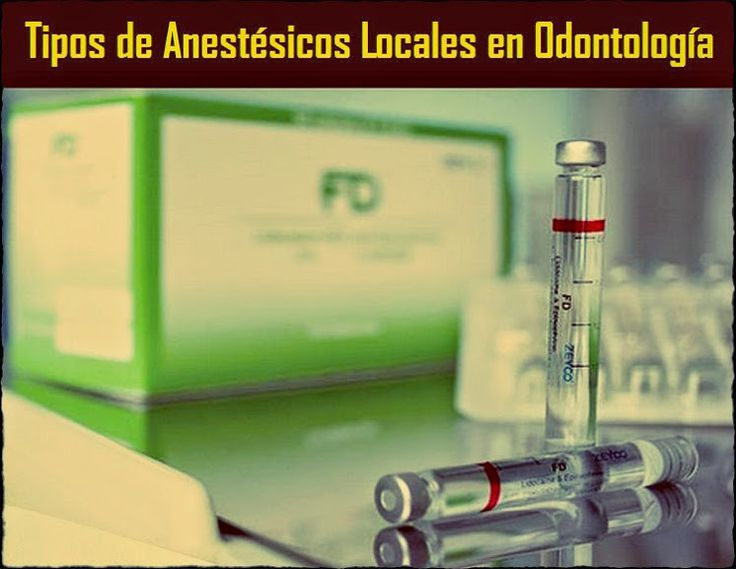 Tipos de Anestésicos Locales en Odontología | OVI Dental