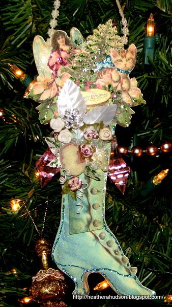 vintage christmas images | Isn't it gorgeous!! I just love it! This time instead of using it as a ...