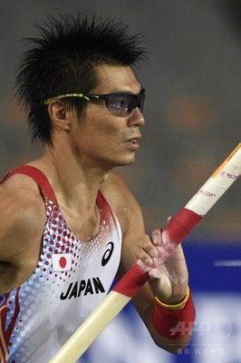 沢野が男子棒高跳びで銀メダル、アジア大会