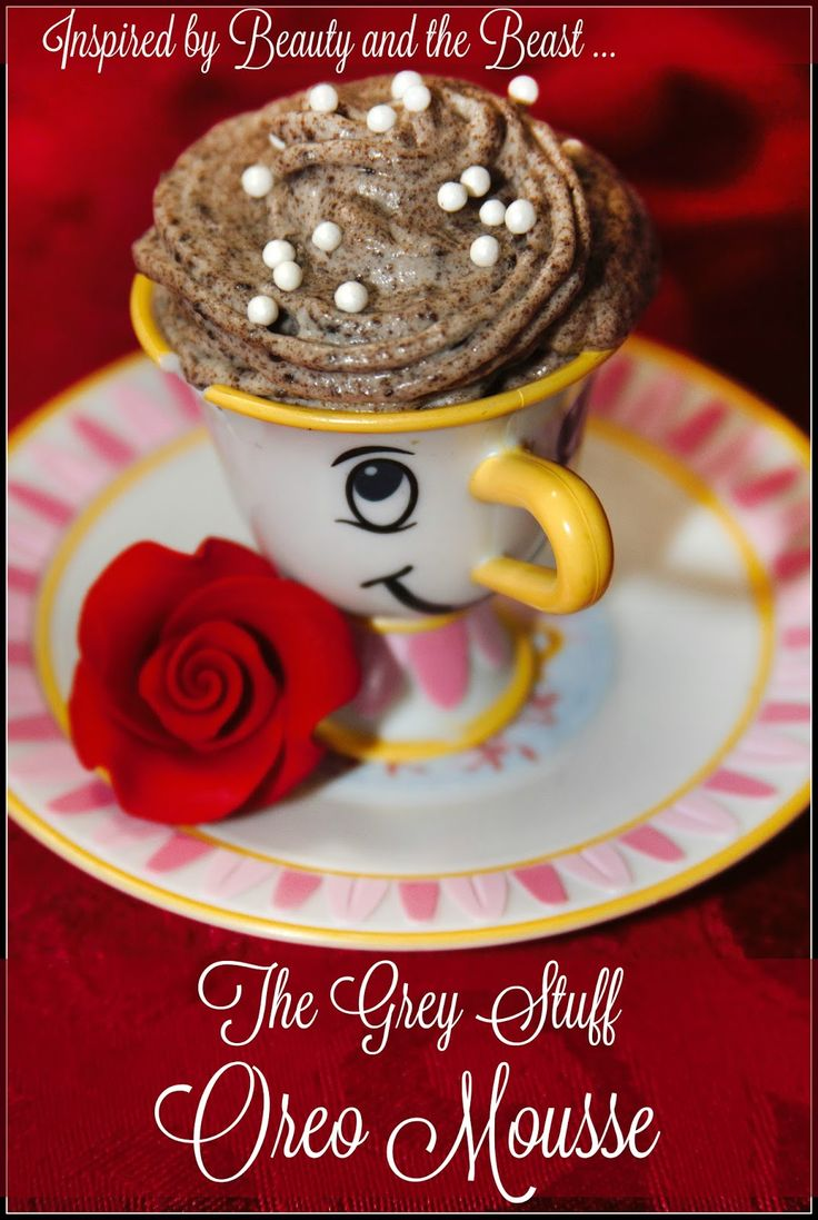 """The Grey Stuff Oreo Mousse - inspired by Disney's """"Beauty and the Beast"""" for #MovieMonday"""