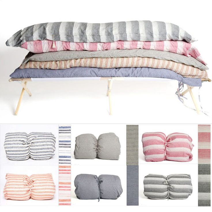 """Hatteras Throw Beds...Twin Bed Size yet only 4lb - """"throw down"""" anywhere for instant cozy comfort!"""