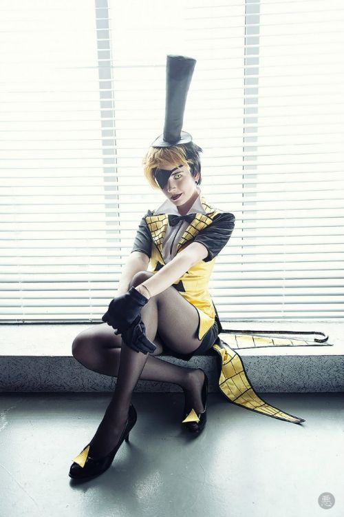 [Found] Bill Cipher (Human version) from Gravity Falls by Jerichon - This is an automated post but if you want to read more Cosplay news checkout http://ift.tt/1dTOCQZ