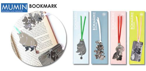 Moomin bookmarks by Pluto Produkter