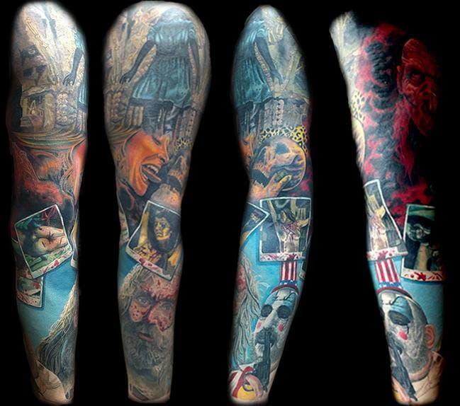 Pin On Sleeve Tattoos