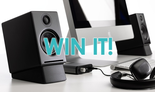 Enter to WIN a premium set of home speakers from Audioengine! #stackup #ultimatemusicbundle