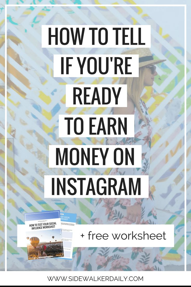 Before you're ready to earn money on Instagram, there are a few things you NEED to consider. We're giving an in depth look into how to know if you're ready to start monetizing your Instagram account!