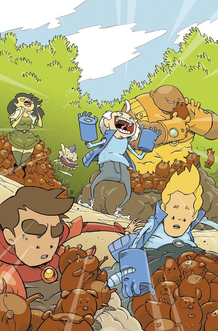 Bravest Warriors (2012) Issue #33