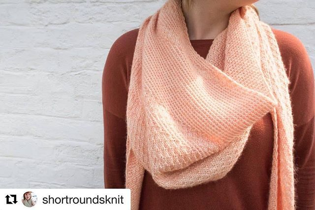 #Repost @shortroundsknit with @get_repost  Cirrostratus is LIVE! Named after the high altitude clouds that form in wispy hazy halo-like layers. This shawl features two interchangeable stitch patterns that you can play with and introduce when you please. A great one to test your own design skills with  It uses the beautiful Hayton 4ply from @edencottageyarns in their soft Apricot Tulip colourway. There's also 10% off on Ravelry to celebrate the release. Just use the coupon code CIRRO10 until midnight 10.6.18  Happy knitting everyone! X . . . . . . #knitting #knitter #knit #knitted #knitwear #knitstagram #igknitters #knittersofig #instaknit #knittersofinstagram #tricoter #igknitting #iloveknitting #knitweardesigner #knittingpattern #knittingaddict #handmade #knitting_inspiration #wool #yarn #shortroundsknit #shawlknittersofig #shawlknittersofinstagram #knittedshawl #shawlknitter #ravelry #shawlknitting #cirrostratusshawl #edencottageyarns